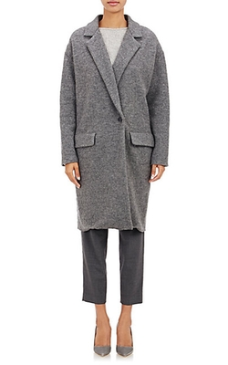 Nili Lotan  - Boiled Wool Coat
