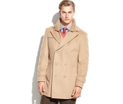 Lauren Ralph Lauren - Labrada Double-Breasted Wool-Blend Peacoat