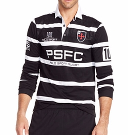 Polo Ralph Lauren - Long-Sleeved Striped Rugby Shirt
