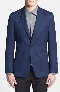 Vince Camuto - Slim Fit Wool Blend Blazer