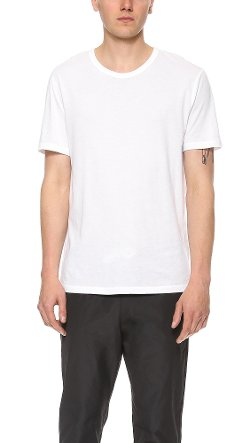 T by Alexander Wang - Classic Short Sleeve Tee Shirt