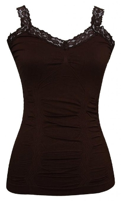 Gravity Trading - Lace Trim Camisole Top
