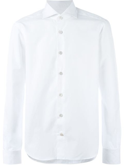 Kiton - Spread Collar Shirt