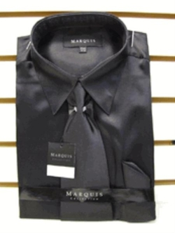 Men Usa - Satin Dress Shirt