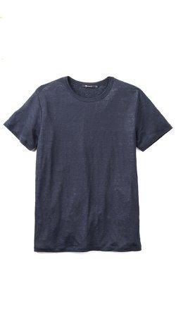 T by Alexander Wang  - Linen T-Shirt