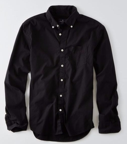 American Eagle Outfitters - Poplin Button Down Shirt