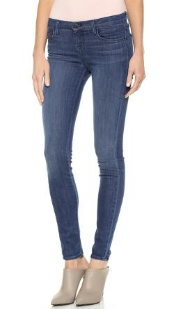 J Brand  - 910 Low Rise Skinny Jeans