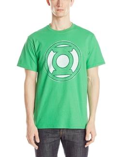 Dc Comics - The Green Lantern Distressed Logo T-Shirt