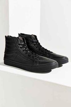 Vans - Leather Zip Sneakers
