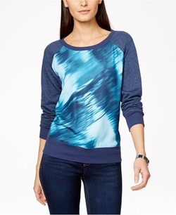 Calvin Klein Jeans  - Printed Pullover Sweatshirt