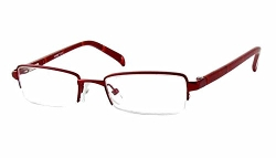 Seventeen  - Burgundy Designer Reading Glasses