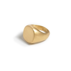 Kule - Small Signet Ring