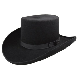Bailey - Western Dillinger Flat Top Hat