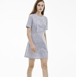 Lacoste - L!VE Poplin Print Dress