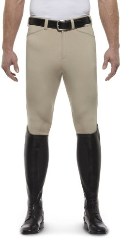 Ariat  - English Breeches Mens Olympia Front Zip Tan