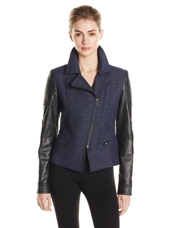 BCBGMAXAZRIA  - Boe Novelty Motorcycle Jacket