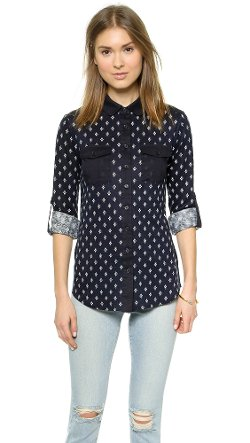 Tory Burch  - Finlay Button Down Shirt