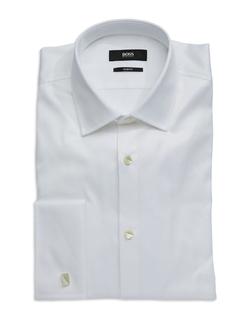 Hugo Boss - Textured Tuxedo Shirt