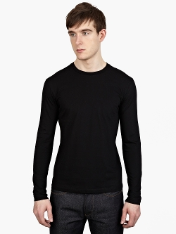Jil Sander  - Long-Sleeved Cotton T-Shirt