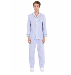 Brooks Brothers   - Striped Cotton Pajama Shirt & Pants