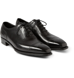 George Cleverley - Anthony Cameron Leather Brogues Shoes