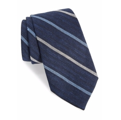 Gitman - Stripe Silk Blend Tie