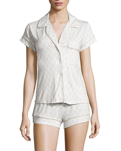 Eberjey  - Looking Glass Short Pajama Set