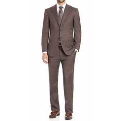 Canali  - Plaid Wool Suit