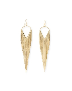 Jules Smith  - Fringe Dangle Earrings