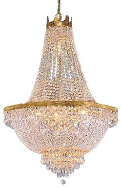 Houzz - French Empire Crystal Chandelier Lighting