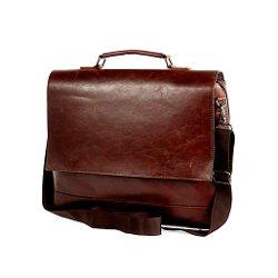 River Island - Brown Flap Over Messenger Bag