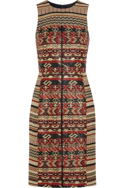 J.Crew - Akola Metallic Tweed Dress