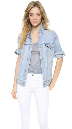 AG Adriano Goldschmied  - Nancy Oversized Denim Jacket