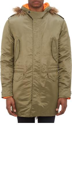 "Rag & Bone  - Hooded ""Greycoat"" Parka"