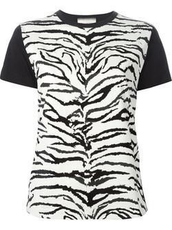 Fausto Puglisi - Zebra Print T-Shirt