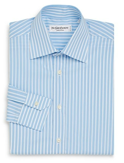 Yves Saint Laurent - Bengal Striped Dress Shirt
