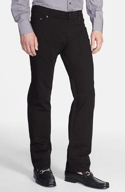 Salvatore Ferragamo - Five-Pocket Slim Fit Straight Leg Trousers