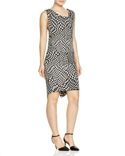 Tracy Reese - Sleeveless Houndstooth Jacquard Dress