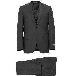 CANALI   - GREY WOOL TRAVEL SUIT