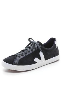 Veja  - Esplar Suede Sneakers