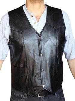 Dona Michi - Motorcycle Leather Vest