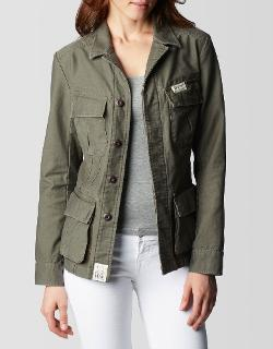 True Religion - Vintage Military Womens Jacket