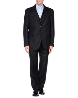 Carlo Pignatelli Classico - Stripe Single Breasted Suit