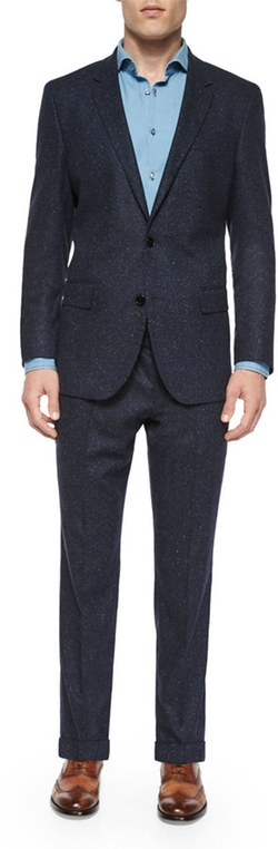 Hugo Boss - Donegal Two-Piece Wool Suit