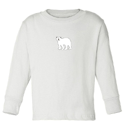 Mashed Clothing - Polar Bear Toddler Long Sleeve T-Shirt