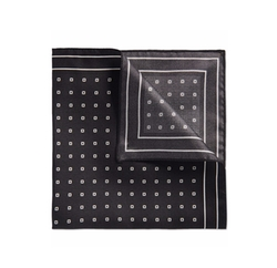 Boss - Patterned Silk Pocket Square