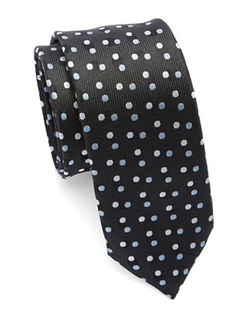 Hugo Boss - Silk Polka Dot Tie