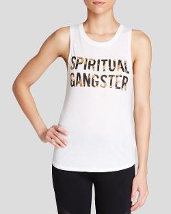 Spiritual Gangster  - Muscle Tank