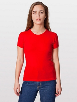 American Apparel - Basic Short Sleeve T-Shirt