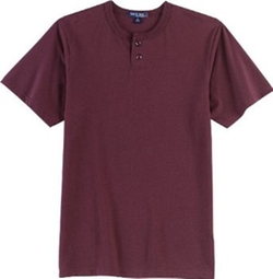 Sport Tek - Short Sleeve Henley Shirt